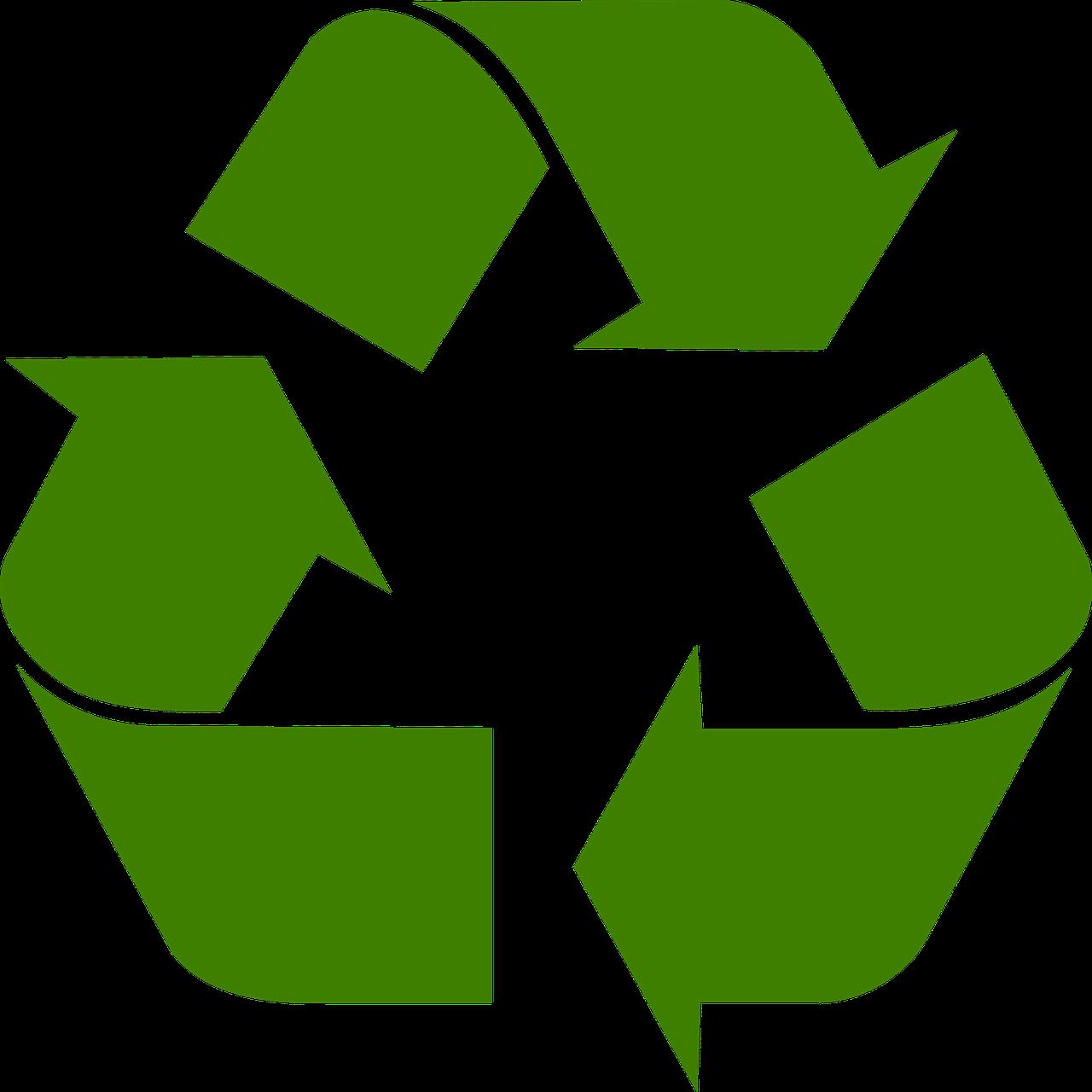 återvinnings symbol By Faux