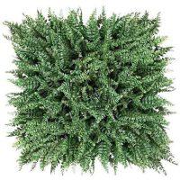 växtvägg ormbunke byfaux